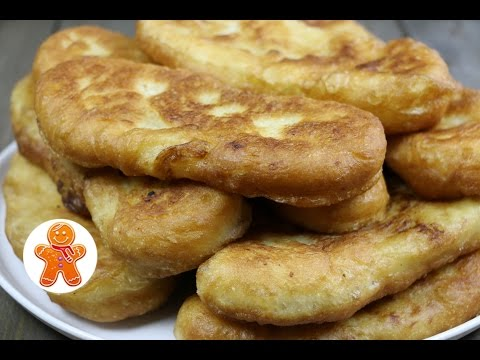 Пирожки с картошкой пряженые (жареные)