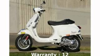 9. 2008 Vespa S 150  Transmission Engine Details Specification Top Speed superbike Dealers