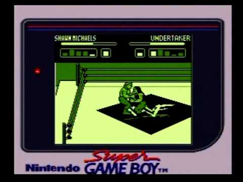 wwf wrestlemania 2000 game boy controls
