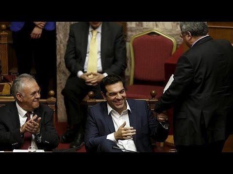 «Τετραετία εξόδου από την κρίση» προανήγγειλε ο Αλέξης Τσίπρας