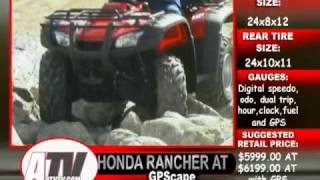 8. ATV Television Test - 2004 Honda Rancher GPScape