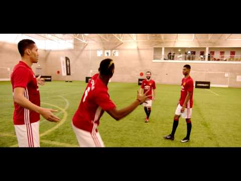 Shoot-Out Challenge w. Paul Pogba, Juan Mata, Marcus Rashford & Chris Smalling | Chevrolet FC