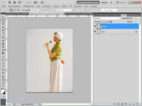 Как сделать видео в фотошопе adobe photoshop cs5 видео