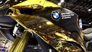 10. 2018 BMW S1000XR Exclusive Gold Features Edition First Impression Walkaround HD