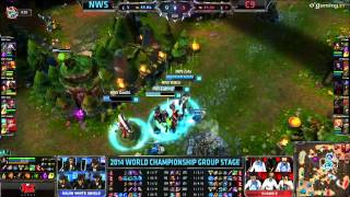 World Championship 2014 - Groupstages - Groupe D - NWS vs C9