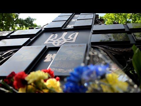Загиблим у зоні АТО черкащанам встановили пам'ятник
