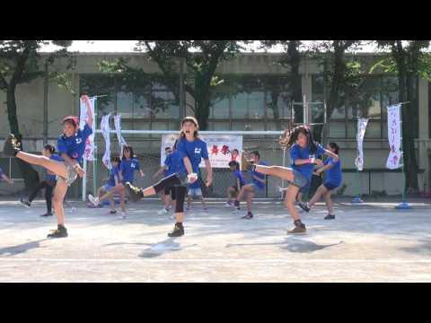 板橋第一小学校 香林庵さん 第8回いたばし舞祭2016 ??TOKIO ON!DO!2014