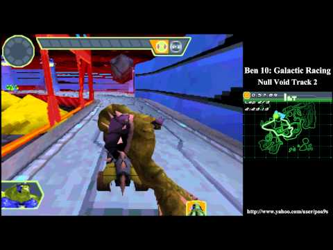 Ben 10 Glactic Racing Null Void Track 2 Walkthrough Part 10 (2011 DS NDS) 1080p HD HQ Gameplay