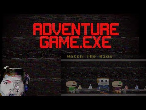 THIS PLACE IS NOT FOR KIDS (WARNING FLASHES LIGHTS) | AdventureGame.exe