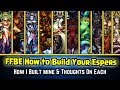 Final Fantasy Brave Exvius - How to Build Your Espers After Resets