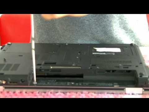 Hướng dẫn tháo tháo lắp và vệ sinh laptop hp elitebook 8440p phần 1