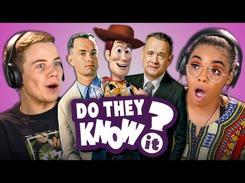 DO TEENS KNOW TOM HANKS MOVIES? (REACT: Do They Know It?)