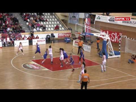 Női kosárlabda NB I. A-csoport 7. forduló. Aluinvent DVTK - MTK Budapest