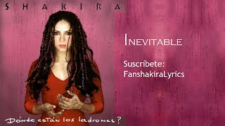 05 Shakira - Inevitable [Lyrics]