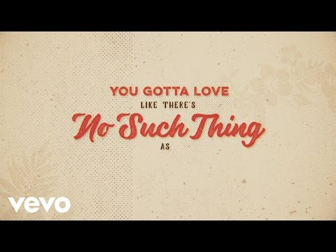 No Such Thing As A Broken Heart (Lyric Video)