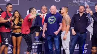 UFC 229: Tony Ferguson, Anthony Pettis face off one last time before fight day
