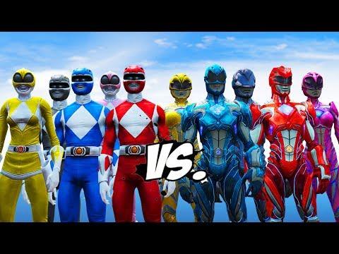 Mighty Morphin Power Rangers VS Power Rangers (2017)