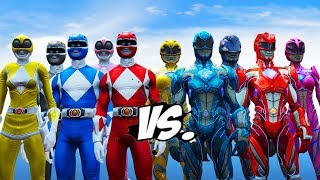 Nonton Mighty Morphin Power Rangers VS Power Rangers (2017) Film Subtitle Indonesia Streaming Movie Download