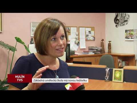 TVS: Hulín - Nová ředitelka ZUŠ