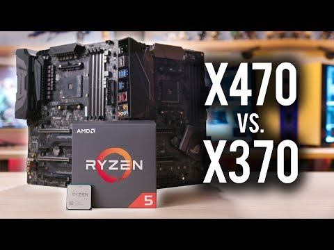 Does Ryzen 2 perform better on X470 than X370??