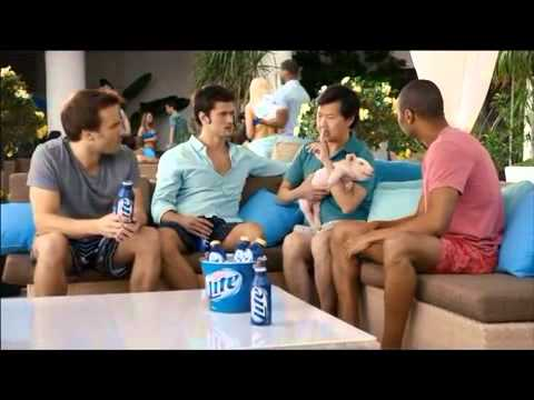 Funny Miller Lite Ken Jeong Commercial TV Advert It's Miller Time Crew for Miller Light Beer 2013
