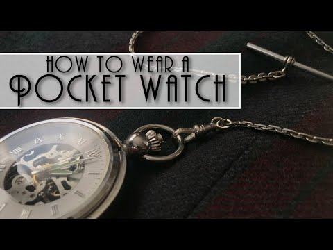 my1928 - How To Wear A Pocket Watch