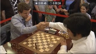 Video ♚ GM Magnus Carlsen vs GM Hikaru Nakamura ★ Chess Blitz Tal Memorial ★ MP3, 3GP, MP4, WEBM, AVI, FLV Mei 2018