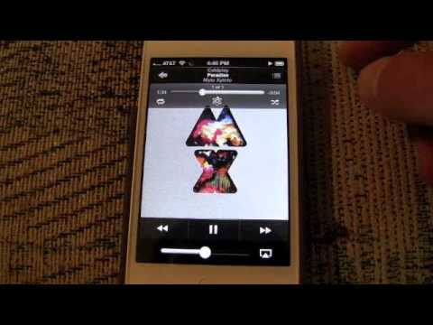 enable itunes match - Now when you tap to play a song, it begins playing, and you still have the option to download it. With iOS 6, you can choose to just listen right now with an...