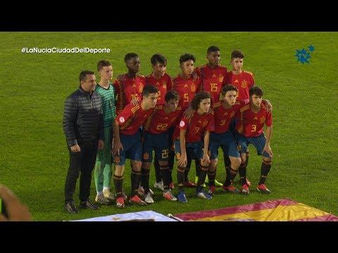 La España sub 15 de Julen Guerrero debuta con victoria ante Irlanda del Norte