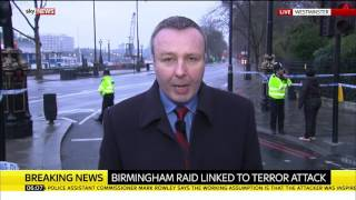 Birmingham police raid linked to London terror attack