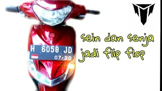 Video cara bikin flip flop / nyala bergantian lampu senja / kota dengan sein di mio sporty smile MP3, 3GP, MP4, WEBM, AVI, FLV September 2018