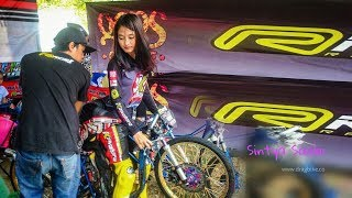 Video Cantik Mempesona!! Wiwi Mungil Joki Drag BIke Kawahara Rider Racing Pells MP3, 3GP, MP4, WEBM, AVI, FLV Desember 2017