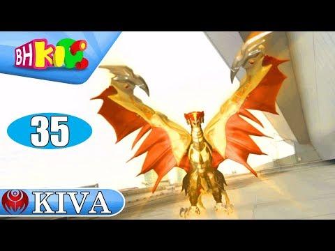 Siêu Nhân Hiệp Sĩ Mặt Nạ Kiva Tập 35: Kiva Hóa Rồng - Thời lượng: 23:05.