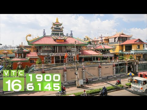 Chiêm ngưỡng ngôi chùa cổ gắn mảnh sành độc nhất Việt Nam I VTC16 - Thời lượng: 6 phút, 22 giây.