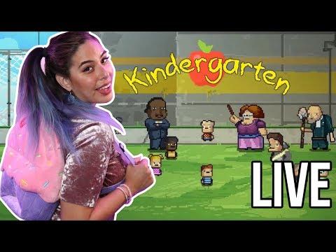 Going to Kindergarten LIVE w/iHasCupquake! (видео)