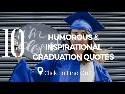 Funny quotes - 10 Best Humorous & Inspirational Graduation Quotes