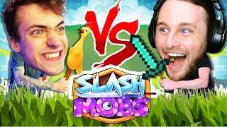 ONE VS ONE SLASH MOBS | THE INTRO CHALLENGE!!