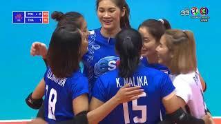 [แต้มสวยๆ]  Thailand v Poland — 2018 Volleyball Nations League