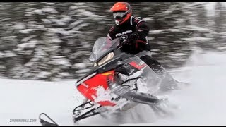 8. 2013 Polaris 600 Indy SP Snowmobile Review