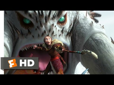 How to Train Your Dragon 2 (2014) - Alpha Battle Scene (6/10) | Movieclips