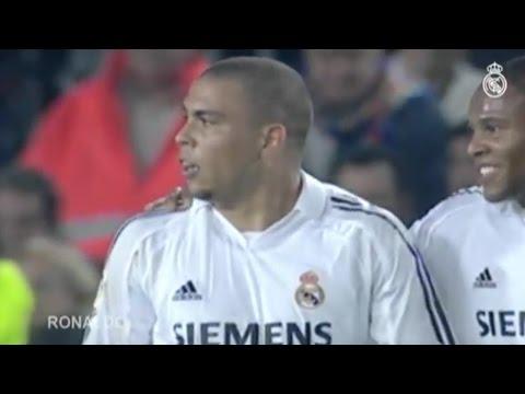 Los mejores goles del Real Madrid al Barcelona