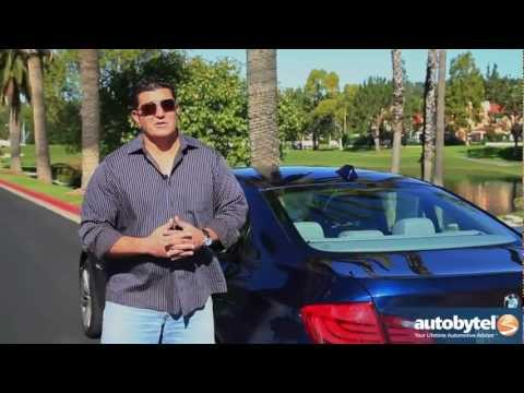 2012 BMW 5-Series Sedan: Video Road Test and Review