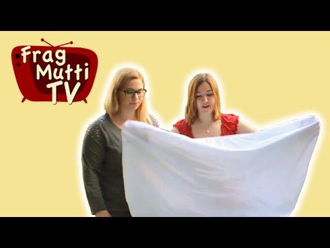 Spannbettlaken falten - Frag Mutti TV