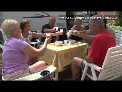 LA CASCADE DES NAISSES--SAINT ROME DE TARN