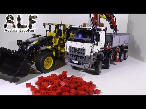 Lego technic 8110 mercedes benz unimog u 400 youtube - Lego technic pas cher ...