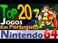 Top 20 Jogos Em Portugu s Nintendo 64 down