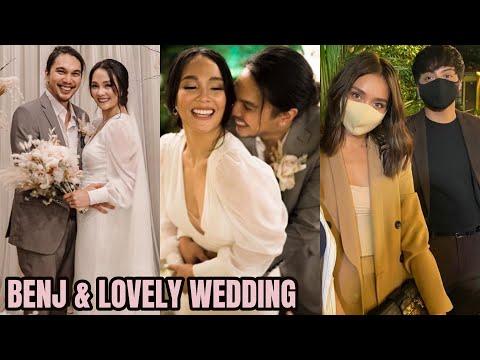BENJ MANALO at LOVELY Abella WEDDING VIDEO