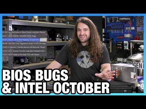 HW News - AMD BIOS Bugs, Arcturus GPU, & Intel Rumors for October
