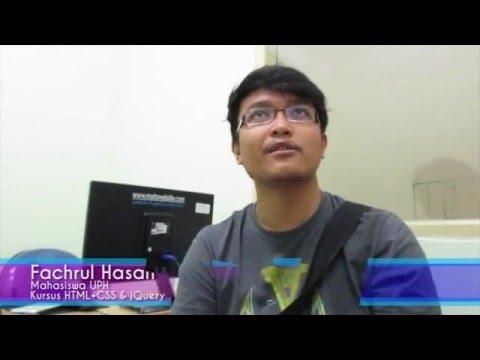 Testimoni Kursus Website  Fachrul Hasan