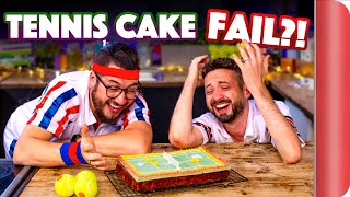 We Try to Bake Mary Berry's TENNIS CAKE... (from The Great British Bake Off!!) by SORTEDfood
